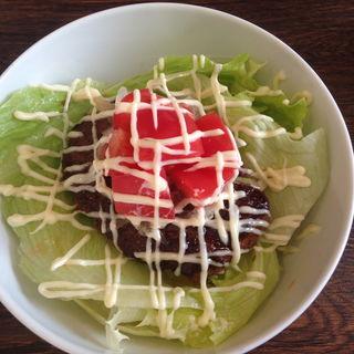 ハンバーグ丼(positive cafe)