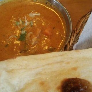 野菜カレー(ヒマラヤインディアンレストラン (HIMALAYA INDIAN RESTAURANT 【旧店名】モエツ カリー))