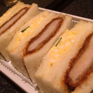 たまごカツサンド(トリーゴ 京橋店 (手作りパンの店))