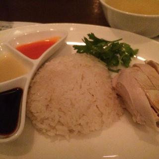 チキンライス(中)(海南鶏飯食堂2恵比寿店)