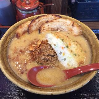 九州麦味噌炙りチャーシュー麺(麺場 田所商店 城陽店)