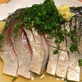 炙りしめ鯖(蕎房 猪口屋 (チョコヤ))
