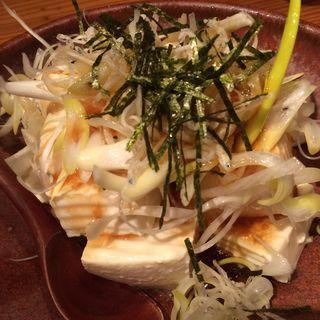 ゆずタレ じゃこネギ豆腐(やまや 四条烏丸店 )