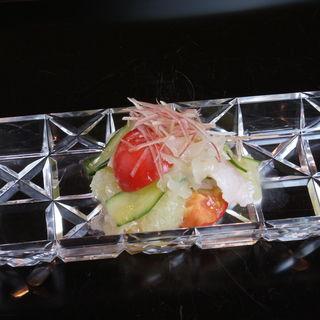 鮮魚のカルパッチョ(寿修 )