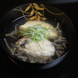 茸の椀物(寿修 )