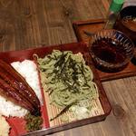 茶そばと鰻丼