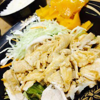 豚肉の冷しゃぶ(紫金飯店 原宿店 (シキハンテン))