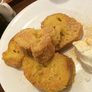 黒糖フレンチトースト(うめぞの カフェアンドギャラリー (うめぞの CAFE & GALLERY))