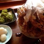 黒糖きなこ白玉+抹茶わらび餅