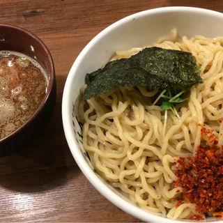 粗挽き鰹ふりかけの辛つけ麺(江戸前煮干中華そば きみはん 総本店 )