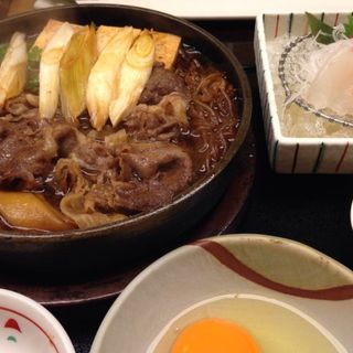すき焼き定食(木曽路 )