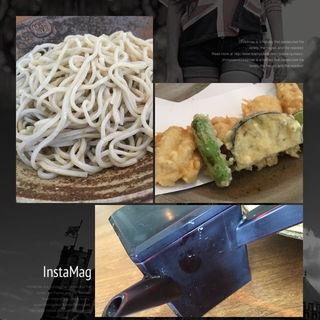 lunch  天婦羅蕎麦(あんばい )
