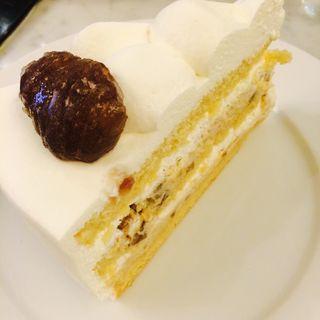 マロングラッセのケーキ(ハーブス 六本木ヒルズ店 (HARBS))