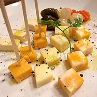 チーズ盛り合わせ(松澤ワイン食堂 プチ )