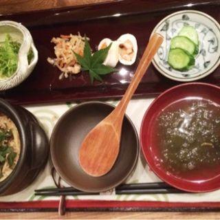 焼鯖炊き込みご飯(お結びcafe )