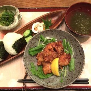 白麹唐揚げ(お結びcafe )