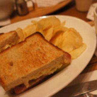 BLT サンドセット(マザーリーフ ティースタイル 阪急西宮ガーデンズ店 (Mother Leaf Tea Style))