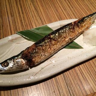秋刀魚の塩焼き(素材屋 八重洲店 (ソザイヤ))