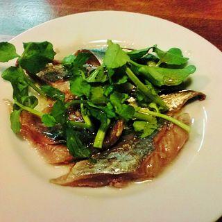 秋刀魚のマリネ(ブラッスリードロー (Brasserie de l'eau))