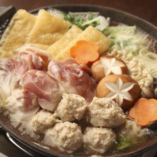 鶏つくね鍋(銀座樽丸 )