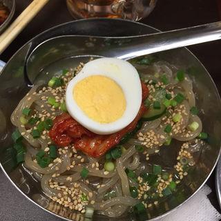 冷麺ハーフ(ホルモンまさる  )
