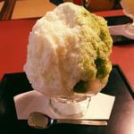 宇治ミルク(カキ氷)(ぎをん小森)