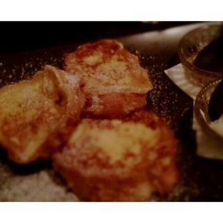 バケットのフレンチトースト(アリーカフェ (alley cafe))