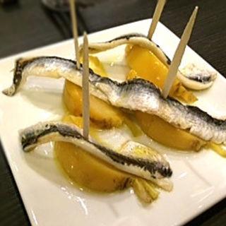 カブのカレー風味アジのエスカベッシュ(ジィーロ (Ji-ro))