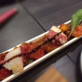 タコブツマリネと横浜野菜入りラタトゥイユ(ジィーロ (Ji-ro))