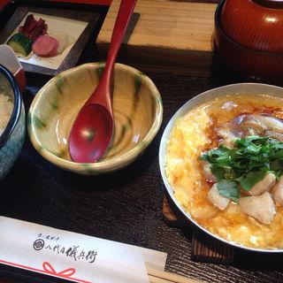 京赤地鶏のあんかけ親子丼(八代目儀兵衛 (ハチダイメギヘエ))