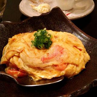 トマトと卵のふっくら中華炒め(芦屋 食&人の縁 うたげ  )