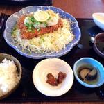 ねぎおろしヒレカツ定食(味楽 )