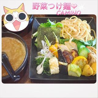 野菜つけ麺(カミノ (camino))