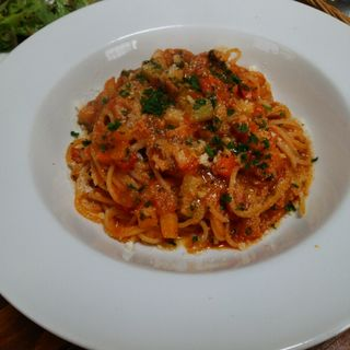 いろいろ野菜のトマトスパゲティー(イタめし屋 GUSTO)
