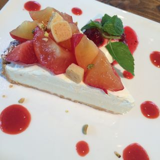 季節のフルーツタルト(BONDAI CAFE)