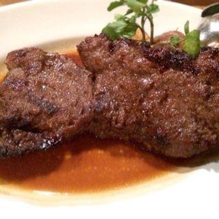 豪州産牛ロースステーキ  北海道産インカの目覚め ローズマリーバターソース(ガーデンレストラン オールデイ ダイニング (GARDEN RESUTAURANT ALL DAY DINING))
