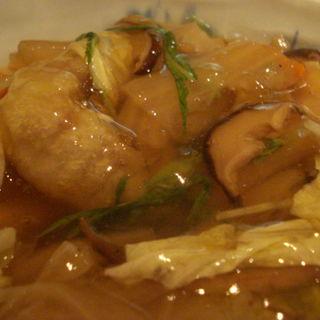 白身魚の野菜あんかけ定食(石和川 (いわかわ))