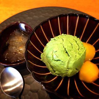 自家製抹茶アイス(こなな 自由が丘店 )