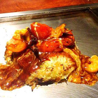 豚肉のトマトお好み(京ちゃばな 南船場店)