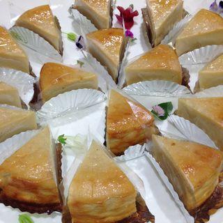 豆腐チーズケーキ(ビオクラカフェ)