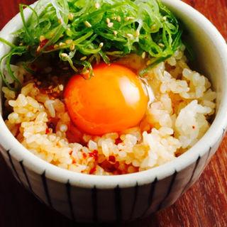 焼肉屋さんの卵かけご飯(焼肉ダイニング 甲 (キノエ))