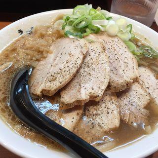 肉盛りラーメン(新・ラーメン 肉を食らえ‼︎)