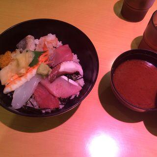 海鮮丼(ととや ((魚問屋)))