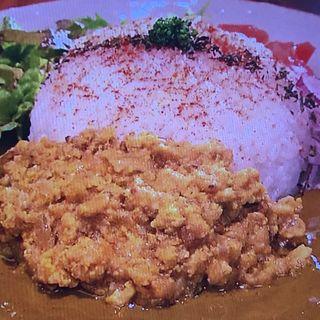 チキンキーマカリー(コバチ咖喱 )