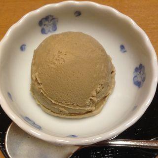 ほうじ茶アイス(和食処 帆舟 (わしょくどころ ほふね))