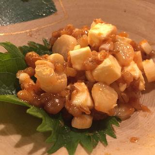 島らっきょうのモロ味噌チーズあえ(にし家 本店 (にしや))