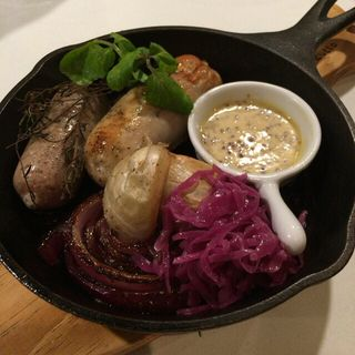 ソーセージ(312.g Teramachi Kitchen (サンイチニドットジー テラマチ キッチン))