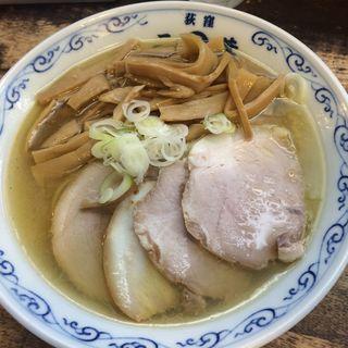 黄金色の塩メンマラーメン(二葉 上荻店 )