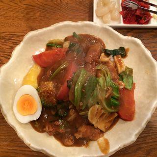 野菜ポークカレー(カレーアンドコーヒー・タイム (curry&coffee TIME))