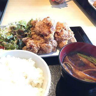 若鶏のからあげ定食 (平日限定)(炙 (Aburi))